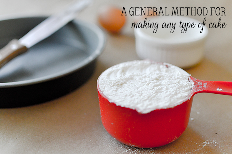 general cake method