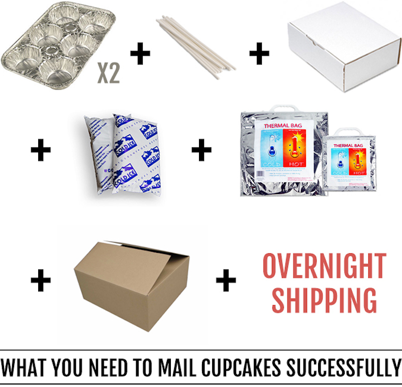 mail cupcakes