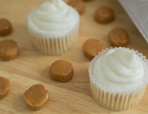 white caramel frosting
