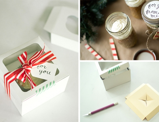 single cupcake gift