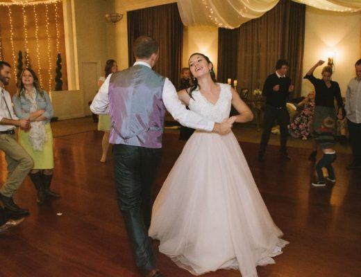 cassie's wedding reception