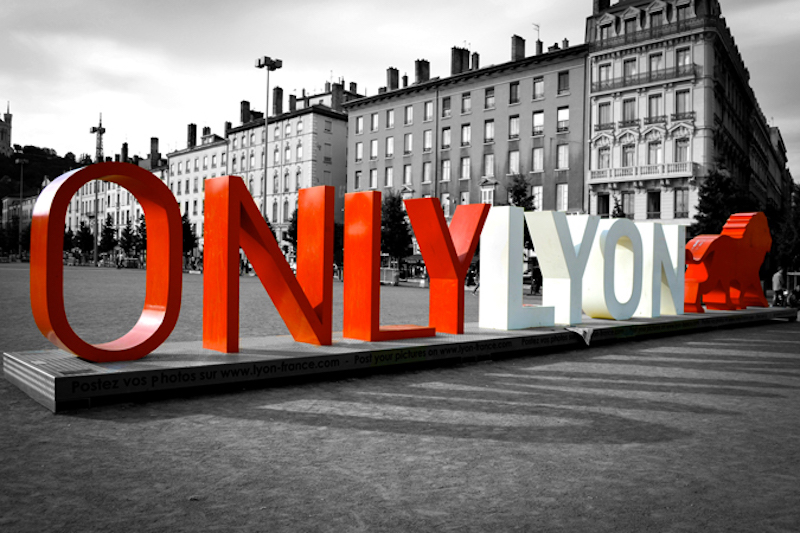 only lyon sign