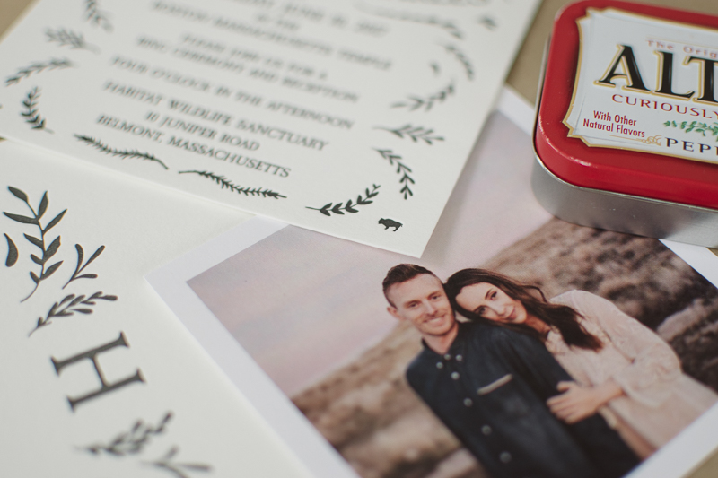 diy letterpress wedding invitations