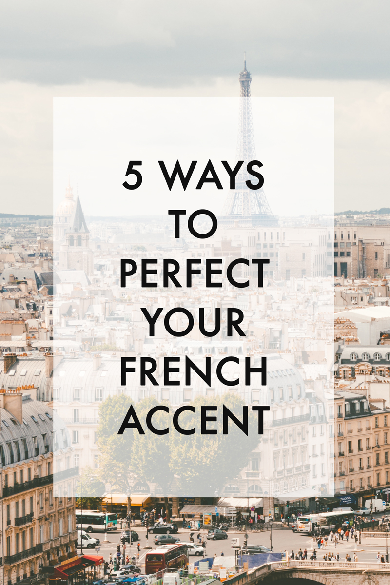 5 french pronunciation tips